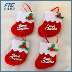 Venda por grosso de estocagem de Natal Santa Claus Factor ornamento de Natal