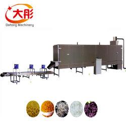 En acier inoxydable automatique instantanée riz artificielle de la machinerie