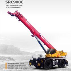 Marque Src900c 90 tonne utilisé un terrain accidenté Grue mobile