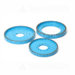 D200mm는 세라믹을%s 분단한 다이아몬드 젖은 회전 숫돌을 금속 접착시킨다