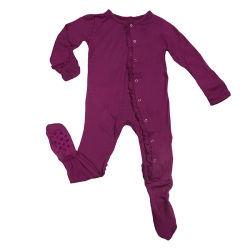 Vestuário para bebé recém-nascido vestuário antibacteriano de algodão Bamboo viscose macacão Bodysuit Vestuário para criança vestuário para criança