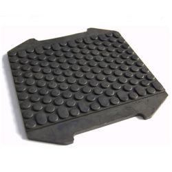 Rubberen blokken voor de rails exporteren voor onderdelen van de onderwagen van de graafmachine