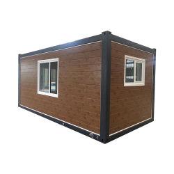Construções prefabricadas Dobrável Prefab minúsculo móveis portáteis móveis modulares de Aço de luxo de madeira/Armazenagem de madeira Contêiner Villa construir casas casa à venda