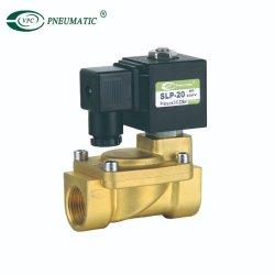 Серия Slp 2/2 путь 3/4 прямого действия латунные воды электромагнитного клапана