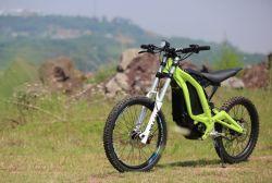 China-hohe Leistung Surron Fahrrad-Schmutz-elektrisches Fahrrad-nicht für den Straßenverkehr grosses Gummireifen-Gebirgsfahrrad