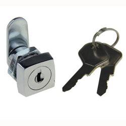 Cabeça quadrada para mobiliário de Segurança de Correio fechadura de came com chave de Latão