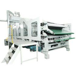 Doppelzylinder Doppelte Doff-Kardiermaschine für Teppich, Matratze Filz Prouction Line Link mit Nadel Stanzmaschine, Therm Bonding Ofen, Kalandermaschine.
