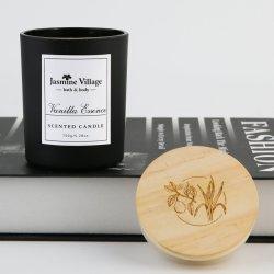 Aroma simple de alta calidad 250 g de Vela de cera de soja para sala