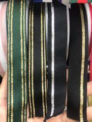 Bajo MOQ al por mayor cinta de satén personalizada de moda impresa