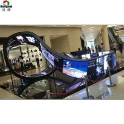 Visualizzazione di LED dell'interno a sezione circolare Speciale-A forma di P2.5 di Mobius con il modulo molle del LED