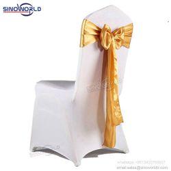 Hotel boda banquetes de alta calidad decoración cubierta de la silla de tela