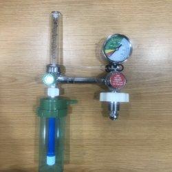 산소 실린더의 부유 유형 의료용 산소 조절기 W/O2 가습기