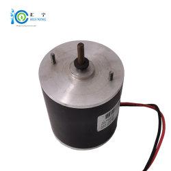 محرك تيار مستمر 36 فولت 80 واط 5n. M العمود المزدوج متدق في المركبة الكهربائية