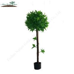 Comercio al por mayor de la Bahía Artificial planta para la venta Jardín Topiary Laurel Tree