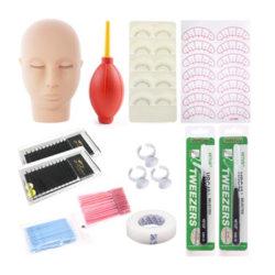 속눈섭 접착제 속눈섭 연장 공구 속눈섭 연장 훈련 도구 또는 세트
