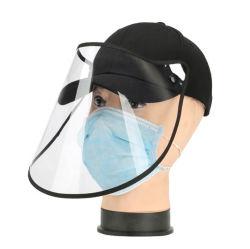 カスタム完全なゆとりPVCプラスチックハンドシールドの反唾液の帽子の/Protectiveの野球帽