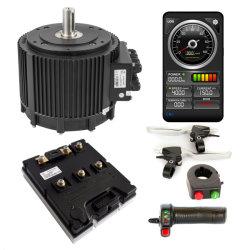 高出力 BLDC 10kW-20 kW 85N.m 4200RPM 120kmh ブラシレス電動 DC 電動二輪車用 VEC コントローラー付きモーター