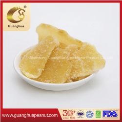 健全で甘くおいしく風味がよく安く新しい穀物の新しい芳香によって結晶させるショウガのスライス