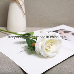Handgemaakte Bruiloft Decoratie kunstmatige valse katoen Rose Flower