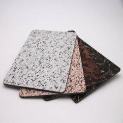 Piedra de granito mármol//ACP Panel Compuesto de Aluminio de textura con recubrimiento PE