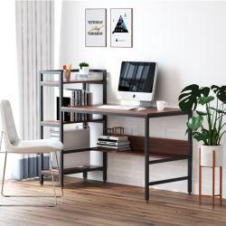 컴퓨터 나무로 되는 탁상용 테이블 현대 최소한 통신 교육 책상 경제적인 본사 책상