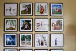예술 벽을%s 재사용할 수 있는 Restickable 사진 프레임 Mixtile