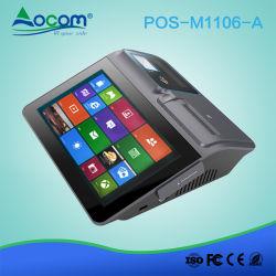 Sistema Android portatile di posizione del ridurre in pani del registratore di cassa dello schermo di tocco di 11 pollice con la stampante, la visualizzazione RFID Msr dello scanner e le opzioni della batteria