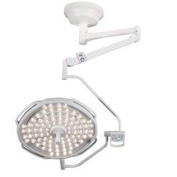 Equipo médico quirúrgico en el techo, luces LED Lámpara de funcionamiento con brazo giratorio
