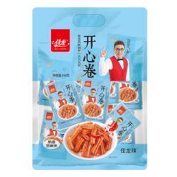 358g-12 해피 롤 매운 글루텐 스위트 세서메 중국식 간식을 맛보세요 매워요