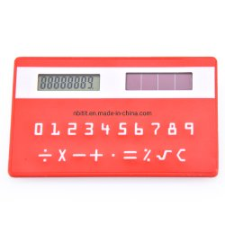 De promotie Calculator van de Creditcard van de Zak van de ZonneMacht van Giften