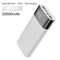 Питание Банк 20000 mAh USB типа C Pd быстрая зарядка + быстрая зарядка 3.0 Powerbank 20000 mAh внешний аккумулятор для iPhone Xiaomi