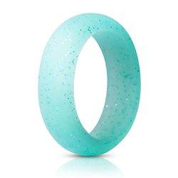 Anneaux de mariage de silicone de qualité alimentaire les anneaux de mariage de la FDA de bandes de caoutchouc de silicone souple en silicone hypoallergénique Cock Ring
