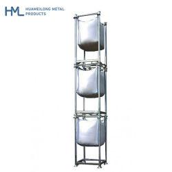 Nave industrial Huameilong metálica de acero de apilamiento de almacenamiento Rack Big Bag