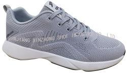 Super Breathable Flyknit athletischer Sport, der beiläufige Schuh-Gymnastik-Fußbekleidung mit MD-Sohle laufen lässt