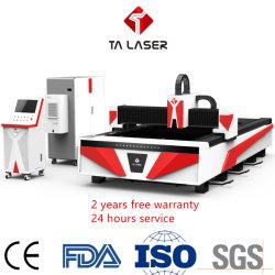 1000W CNC Cortador láser láser de fibra pesada/CO2 de corte por láser o de la máquina de grabado de metal acero al carbono, acero inoxidable y hoja de corte de tubo
