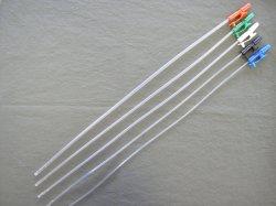 Catetere urinario di Foley del lattice a gettare medico con la valvola molle