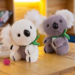 Высокое качество Koala с зеленым шарфом мягкие игрушки для детей День Рождения