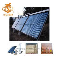 Colectores solares Heat Pipe para tejado plano