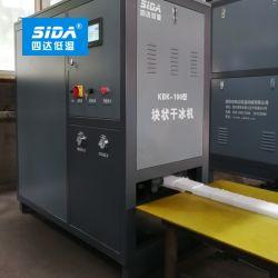 L'Asdi entièrement automatique de la ligne de production de la glace sèche avec des granules de glace sèche Maker et fabrication du bloc de glace sèche Machine d'emballage
