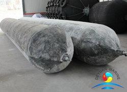 Sacchi ad aria di lancio della nave della gomma naturale con differenti strati del cavo