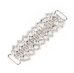 Hebilla de último diseño de moda para la Bolsa de Zapata, de buena calidad, con Diamante de cristal de la perla