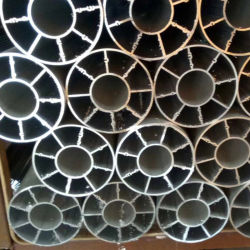 Vente d'usine de nouvelles formes de tubes en aluminium de produit pour LED dissipateur de chaleur