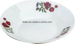 Don/sur mesure de la plaque en céramique en porcelaine assiette à soupe