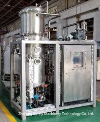 Evaporador de baja temperatura continua para la planta de tratamiento de aguas residuales industriales