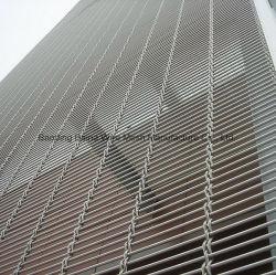 외부 벽 장식적인 건축 스테인리스 케이블 로드 금속 와이어 메시