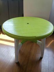 이용한 옥외 플라스틱 테이블 형은 초침 책상 형 제안을 전매한다