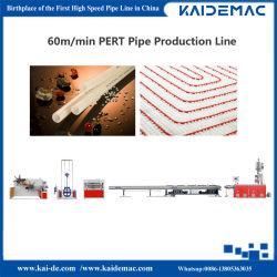 La grande vitesse Pert Ligne de production de tuyaux de chauffage au sol Making Machine//tuyau tuyau tuyau de la machine de l'extrudeuse/ligne d'Extrusion 60m/min pour 20mm tuyau