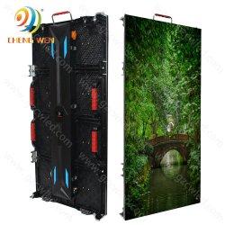 Рп3.91 P P4.81 для использования вне помещений в аренду водонепроницаемый 500*1000 мм дисплей со светодиодной подсветкой экрана реклама фон видеостены системной платы