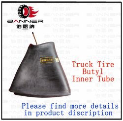 Hot-Sale Truck & Bus Tubo interior de la goma de la naturaleza de los neumáticos de caucho butilo tubo interior del tubo interior de camiones