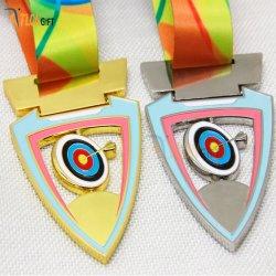 スポーツの記念品の専門の製造業者の金属のメダルの技術